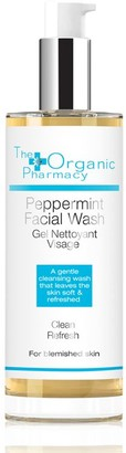 The Organic Pharmacy Peppermint, Tea Tree & Eucalyptus Face Wash 100Ml