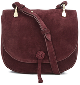 Elizabeth and James Women's Zoe Saddle Bag Bordeaux