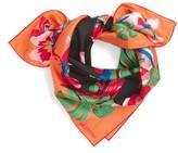 Valentino Women's Tropical Dream Square Silk Scarf