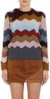 Marc Jacobs Women's Chevron Striped Cashmere Sweater