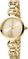 Just Cavalli 28mm IP Stainless Steel Logo Watch w/ Bracelet