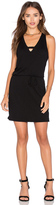 Lanston Cross V Mini Dress