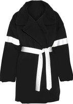 Norma Kamali Reversible cotton-blend coat