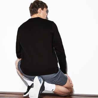 Lacoste Mens SPORT Crew Neck Fleece Sweatshirt