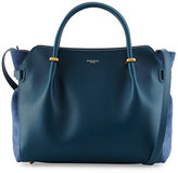 Nina Ricci Marche Calf Leather Satchel Bag, Blue