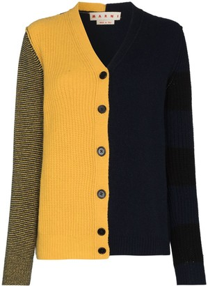 Marni Colour-Block Cardigan
