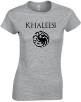 Gildan KHALEESI HOUSE TARGARYEN SHIRT GAME OF THRONES WOMENS TEE (S, )