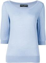 Dolce & Gabbana knitted top - women - Cashmere - 42