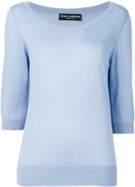 Dolce & Gabbana knitted top - women - Cashmere - 44