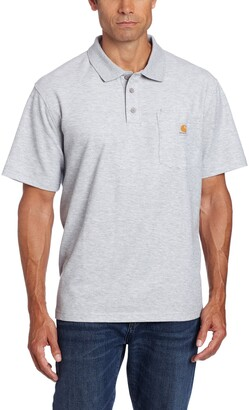 Carhartt .K570.HGY.S008 Contractor Work Pocket Polo