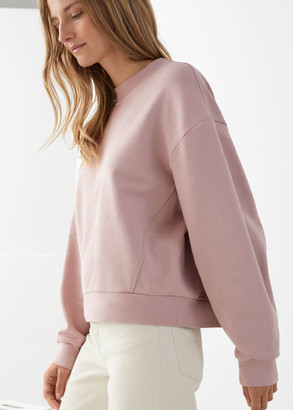 And other stories Dropped Shoulder Jersey Sweater