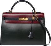 One Kings Lane Vintage Hermès Kelly Color Block Bag, 32cm