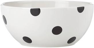 Kate Spade Deco Dot Serve Bowl 8.0