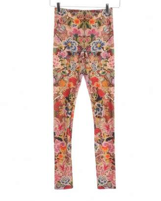 Alexander McQueen \N Multicolour Spandex Trousers
