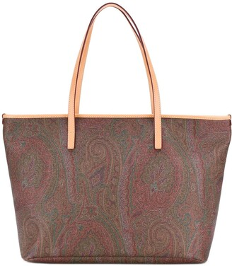 Etro Paisley Print Tote Bag