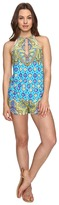 Trina Turk Corsica Romper Cover-Up Women's Jumpsuit & Rompers One Piece
