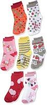 Sterntaler Girl's Söckchen 7er-Box Mädchen Calf Socks
