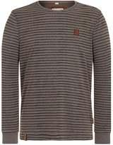 Naketano Sweatshirt Mottled Light Brown, Blue