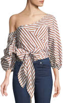 STYLEKEEPERS Wrap Me In Love Striped Blouse