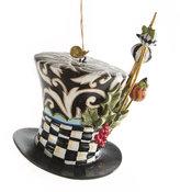 Mackenzie Childs Wonderland Mat Hatter Tree Decoration