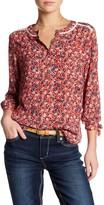 Seven7 Floral Crochet Blouse