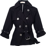 Cropped Belted Trench by MICHAEL Michael Kors
