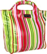 Hadaki Jazz Stripes - Insulated Coated Lunch Pod Cosmetic Case