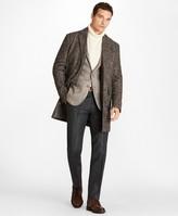 Brooks Brothers Herringbone Twill Supersoft Topcoat