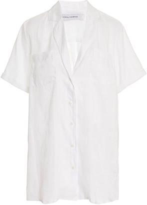 Faithfull The Brand Caldera Linen Shirt Dress