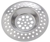 Wenko 4930302100 Sink Strainer Set of 2 7 cm Stainless Steel
