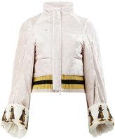 Undercover queen bee printed bomber jacket