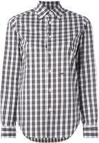 DSQUARED2 checked shirt - women - Cotton/Polyamide/Spandex/Elastane - 38