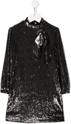 No21 Kids Sequin Embellished Dress