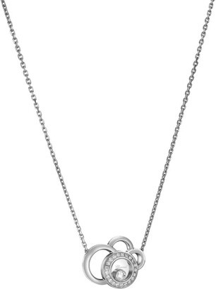 Chopard White Gold and Diamond Happy Dreams Necklace