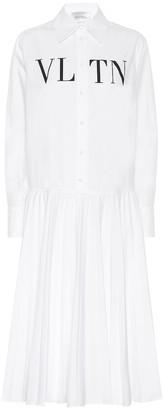 Valentino VLTN cotton shirt dress