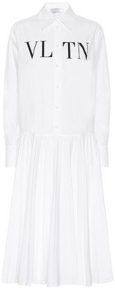 Valentino VLTN cotton shirt dress