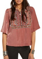 Scotch & Soda Boho Embroidered Top