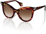 Vivienne Westwood Diamante Horn Sunglasses VW871S-3RTO