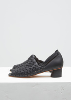 Rachel Comey black gaia leather sandal