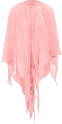 J.W.Anderson Asymmetric Pleated Cape