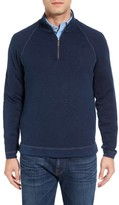 Tommy Bahama Men's Big & Tall Saltwater Tide Half Zip Pullover
