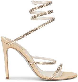 Rene Caovilla wrapped ribbon sandals