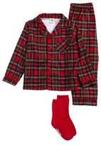 Little Me Two-Piece Pajamas & Socks Set