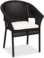 Pottery Barn Stacking Dining Chair With Cushion
