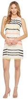 Calvin Klein Pleat Front A-Line Dress Women's Dress