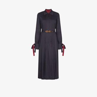 Evi Grintela Elegance belted shirt dress