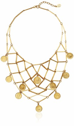 """Ben-Amun Moroccan Coins"""" Collection Long and Sort Gold Plated Necklaces New York Fashion Jewelry"""