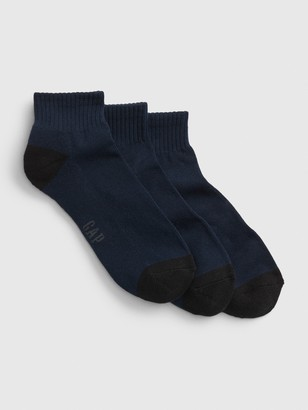 Gap Quarter Crew Socks (3-Pack)