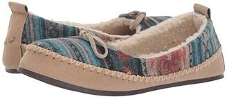 M&F Western Grace Mary Jane Slipper (Blue/Grey/Multi) Women's Shoes