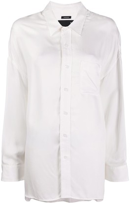 R 13 Oversized-Fit Cotton Shirt